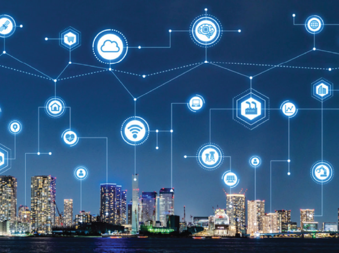 architecture of Smart Cities using the Internet of Things
