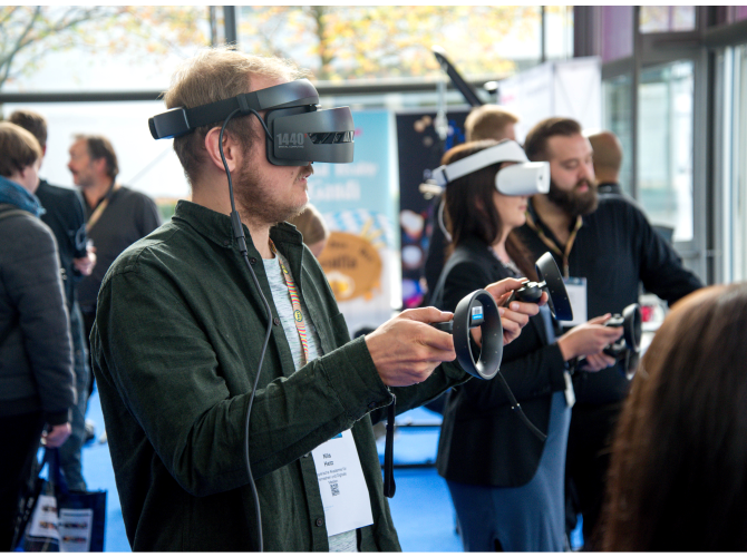 Virtual Reality is transforming the gaming experience by bringing real time experience to it.