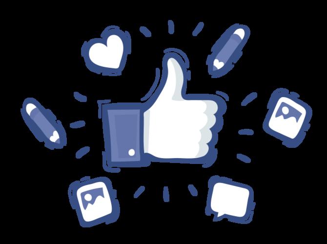 Successful Facebook posting