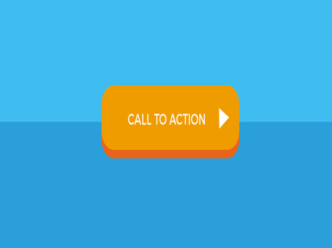 call to action button on website