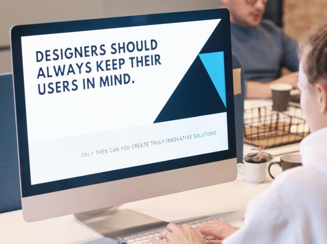 visual hierarchy in Ui design