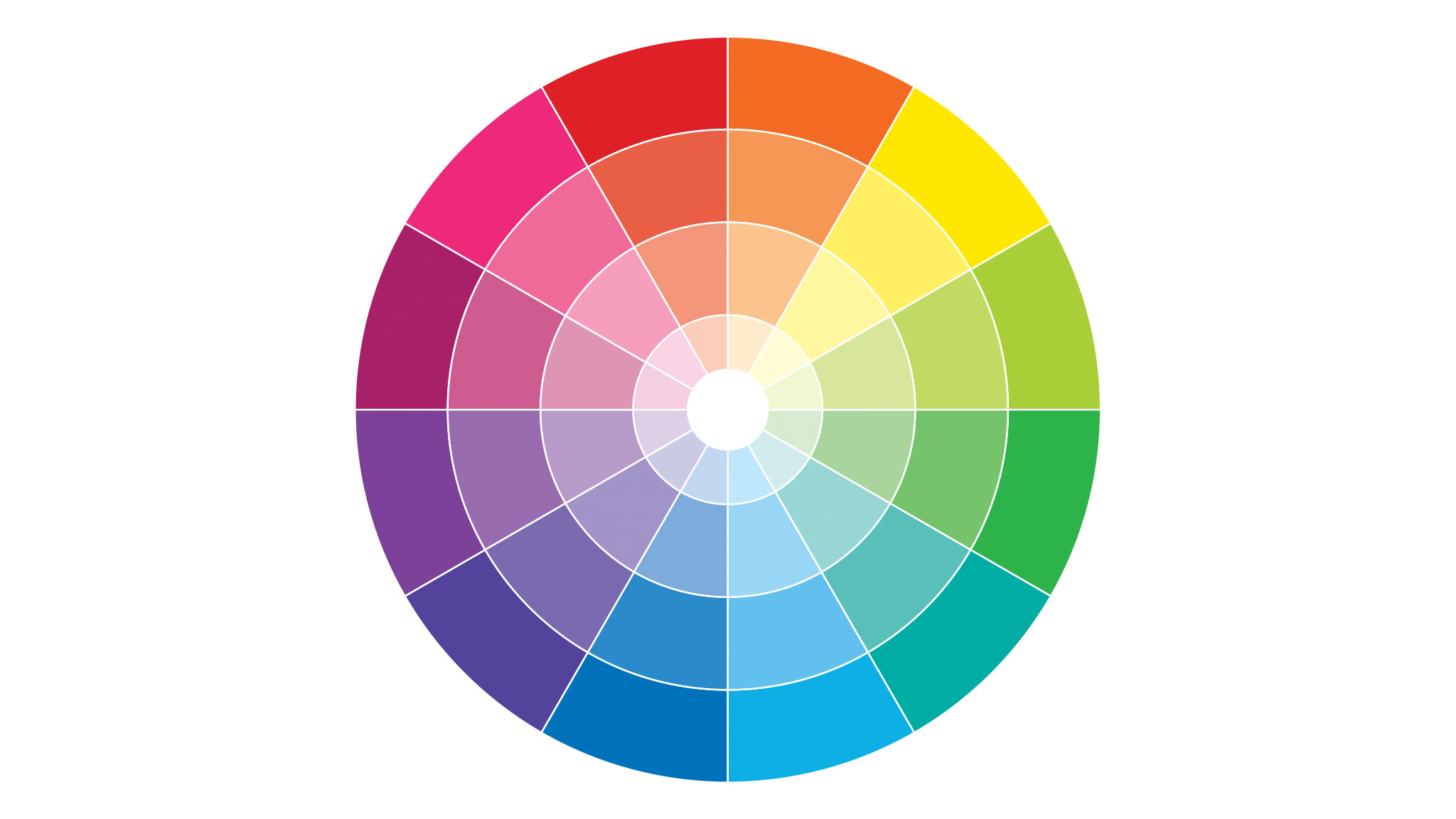 Color theory in UI design