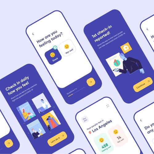 Infographics in Healthcare app