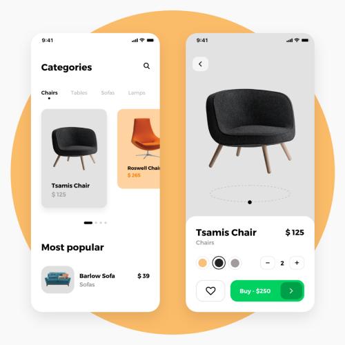 step-2 of e-commerce app