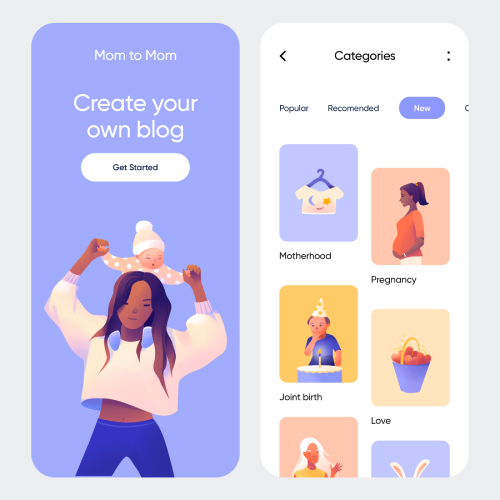 Illustrations helps in promoting easy user journey