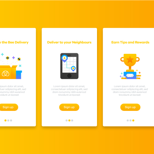 Illustrations can be used in reward screens