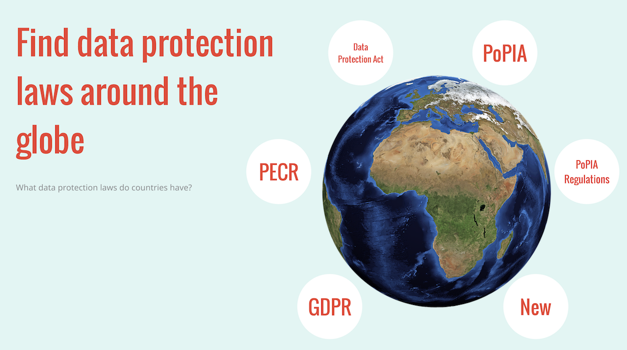 Data protection laws worldwide