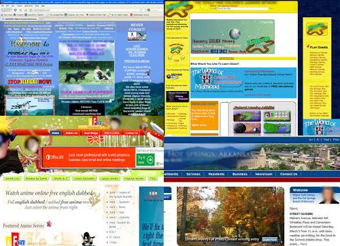 Overloaded Website design