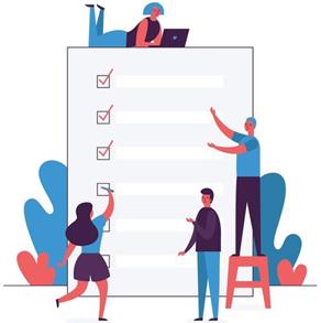 Checklist for web design and development