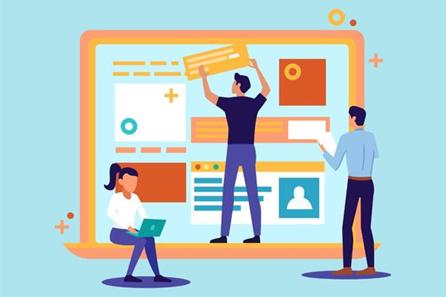Team work in Web Design and Development