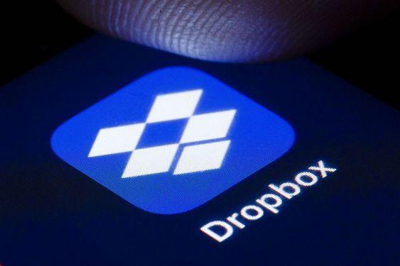 Dropbox mobile app