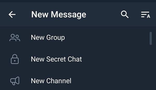 Telegram app features