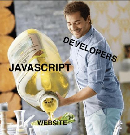 javascipt and developer