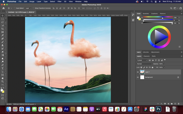 Color Feature in Adobe Photoshop