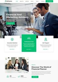 Financial website example