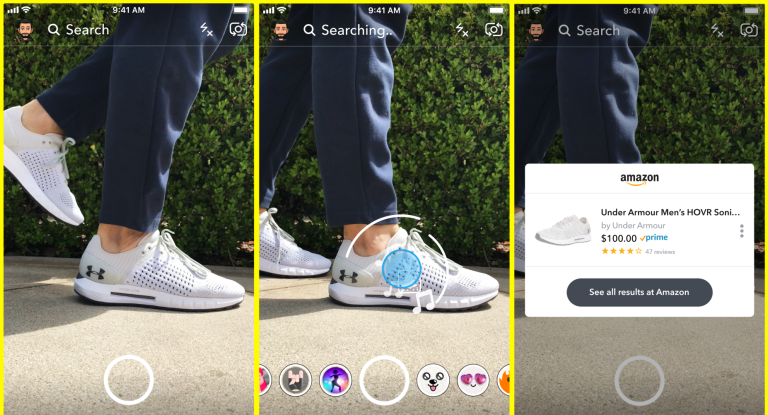 Snapchat app features