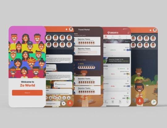CreateBytes' work for Zo World
